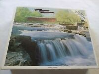 Whitman Cataract Indiana Covered Bridge 600 Piece Puzzle