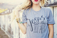 Let Your Faith Be Bigger Than Your Fear T-shirt Faith Jesus Tee Christian Tops