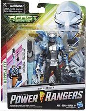 "Power Rangers Silver Ranger Beast Morphers Basic 6"" Action Figure NIB"