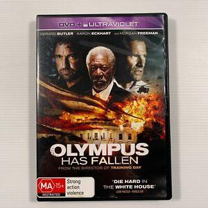 Olympus Has Fallen (DVD 2013) Morgan Freeman Gerard Butler Region 4
