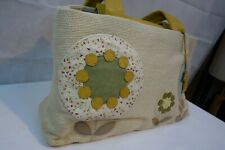 Radley straw handbag yellow new with tags