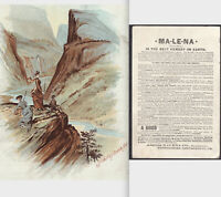 Silverton Colorado 1889 Gu-Ma-Gum Malena Remedy Victorian Advertising Trade Card