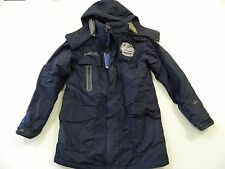 M96 NWT New Rare REEBOK Blue Winter Classic Hooded Jacket Coat MEN'S S