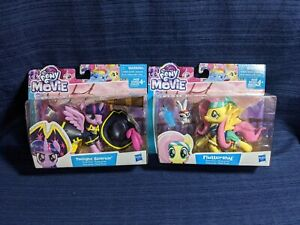 My Little Pony Fluttershy and Twilight Sparkle Lot of 2 - New
