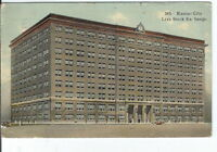CC-320 Mo, Kansas City, Live Stock Exchange Divided Back Postcard Elite PC Co