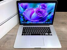 Apple Macbook Pro 15 Inch Retina / Core I7 3.3Ghz Turbo / Osx-2019 / 512Gb Ssd
