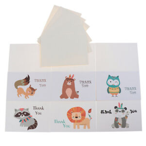 Thank You Cards Or Animal Cards With Envelope Business Custom Invitations NoALUK