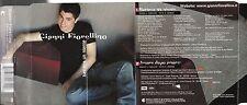 GIANNI FIORELLINO CD SINGLE 2 TRACCE Bastava un niente  SANREMO 2003