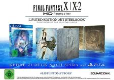 Final Fantasy X / X-2 HD Remaster - Steelbook Limited Edition - [PS4]