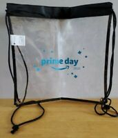 Amazon Employee Issue Prime Day 2020 Clear Backpack NapSack Lunch Bag Peccy Swag