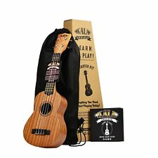Kala LTP-S Learn to Play Mahogany Ukulele Starter Kit w/ Bag