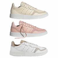 Adidas Originals Supercourt Damen Scarpe Sneaker con Lacci da Ginnastica Nuovo