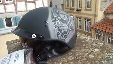 Helm, SOL SH-1, Thor, Halbschale, Chopperhelm,Harley, geprüft! Gr.L (59- 60 cm)