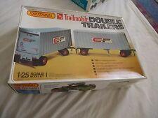 MATCHBOX/AMT 1:25 Trailmobile double remorques (LOOSE parts)