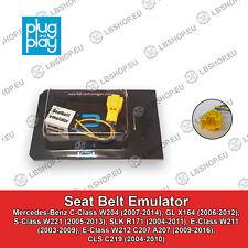 Mercedes-Benz W211 W212 C207 A207 C219 Seatbelt Emulator Seat Belt Bypass