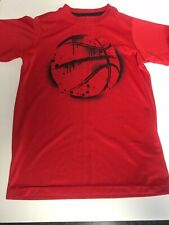 bcg Basketball Shirt Boys Size Xs 6-7 Red