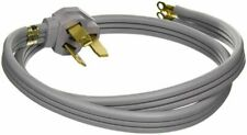 GE 40A 125/250V Universal 3-Wire Range 4' Power Cord WX09X10006