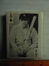 1969 Globe Imports History Entertainment Sealed Deck With Babe Ruth On Top!