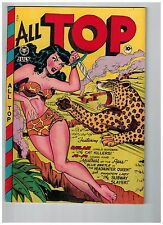 All Top Comics # 12 NM- 1948 Fox Features Syndicate Golden Age Comic Book JJ1