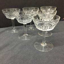 Coupe(s) à champagne en cristal Modèle MERY ESNEUX. H:124 mm.Val Saint Lambert