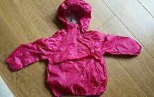 Next Girls Pink Waterproof Packamac 3 years BNWT RRP £13