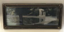 Antique 1920's Beautifully Framed Pastel Landscape Painting