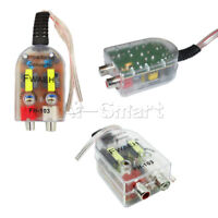Level Speaker High to Low Car Impedance Converter 2 Channel RCA Line Out