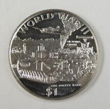 New listing Liberia Commemorative Coin $1 1997 - World War Ii - The Dieppe Raid