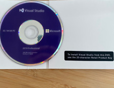 Visual Studio 2019 Professional  - Disc and License key