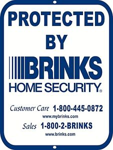 9 x 12 Aluminum Warning Security Business Home Video Surveillance Sign