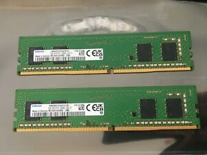 2x Samsung DIMM 8GB = 16GB , DDR4-3200 CL22 M378A1G44AB0-CWE Arbeitsspeicher RAM