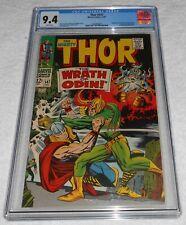 Thor #147 CGC 9.4 White Pages Loki 1967 Marvel