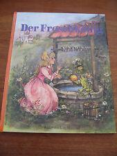 (E487) ALTES KINDERBUCH DER FROSCHKÖNIG GRIMM/LORE HUMMEL DESSART VERLAG UM 1980