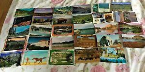 Job Lot of Wyoming, USA Postcards x 29