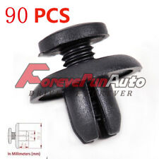 90 Pcs Push Type Bumper Fender Hood Splash Shield Retainer Clip For Honda Acura