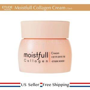 Etude House Moistfull Collagen Cream 75ml Moisture + Free Sample [ US Seller ]