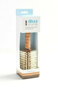 Ibiza Hair B5 Round Hair Brush - NEW IN BOX - Boar Bristles Add Shine Volume
