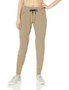 Columbia Women's Bryce Canyon Pant Hybrid Jogger,Deep Truffle,Small x Regular