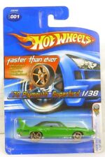 Hot Wheels 2006 First Editions 1970 Plymouth Superbird Collectible Car 1 Of 38