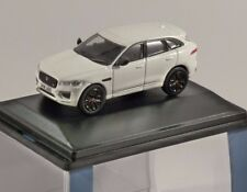 JAGUAR F-PACE in Polaris White 1/76 scale model OXFORD DIECAST