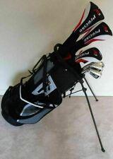 New listing Mens Left Handed Complete Golf Club Set Driver, Wood, Hybrid, Irons, Putter Bag