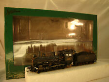 4-4-0 DCC / Sound Steam Logging Locomotive - custom weathered - lot 14 -HO scale