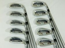 New Honma BeZeal 535 iron set 4-SW irons 10pc Be Zeal 4-10,11,AW,SW Stiff Graph