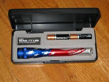 Maglite AA MiniMaglite LED Flag maglight USA mag-lite Stars and Stripes SP22AE7