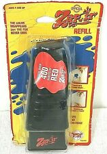 NIP Zap-It Squirt Gun Red Invisible Ink Refill Panosh Place 1987 Vintage