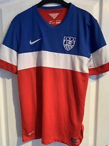 USA Away Football Shirt, 2014, Medium, Carter 00