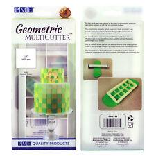 PME géométrique Multicutter de gâteau Glaçage coupeur grand carré - 1.25 pouce