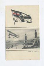 1914 DR Marine Feldpost SMS Wittelsbach auf schöner AK Kriegshafen Kiel Holtenau