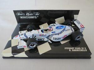 Rubens Barrichello 1998 Stewart Ford SF-2 Paul's Model Art Minichamps F1 1:43