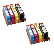 8 x 364XL Ink For HP PhotoSmart 5510 5520 6520 5515 B109 B110 Deskjet 3070a